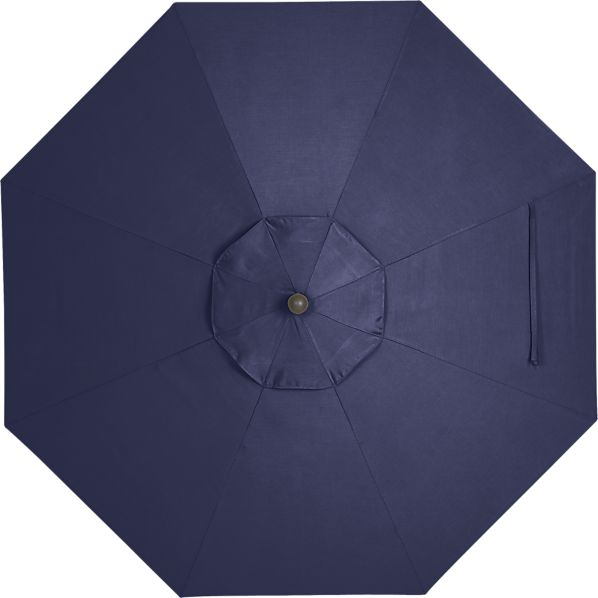 9' Round Sunbrella® Indigo Umbrella Cover