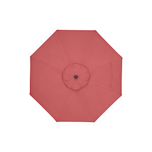 9' Round Sunbrella ® Rose Umbrella Cover