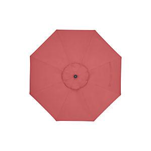 9' Round Sunbrella ® Rose Umbrella Cover