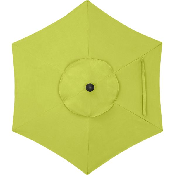 6' Round Sunbrella® Apple Umbrella Cover