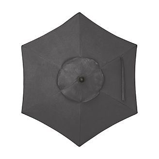 6' Round Sunbrella ® Charcoal Umbrella Cover