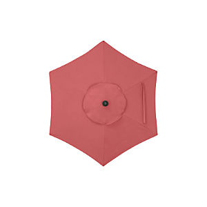 6' Round Sunbrella ® Rose Umbrella Cover