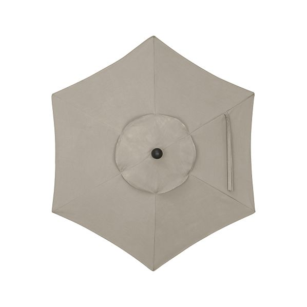 6' Round Sunbrella ® Stone Umbrella Cover