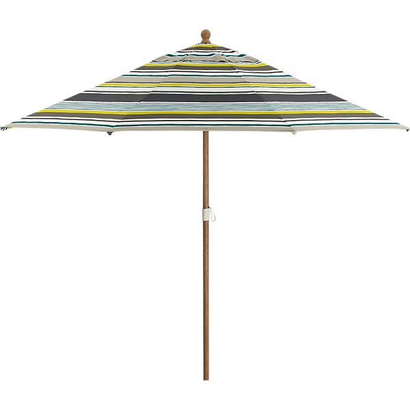 9' Round Arroyo Umbrella with Eucalyptus Frame