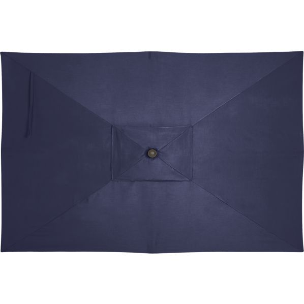 Rectangular Sunbrella® Indigo Umbrella Cover