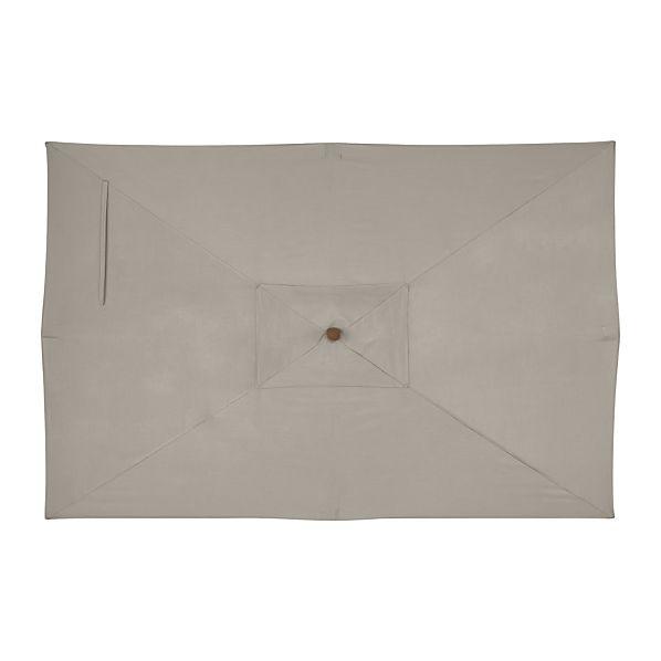 Rectangular Sunbrella ® Stone Umbrella Cover