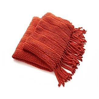 Marley Orange Throw