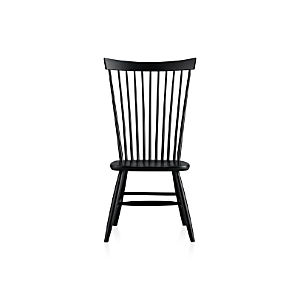 Marlow II Black Side Chair