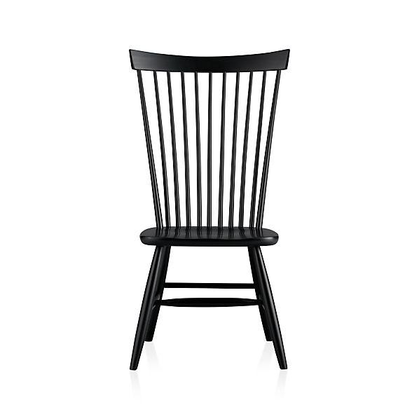 Marlow II Black Side Chair