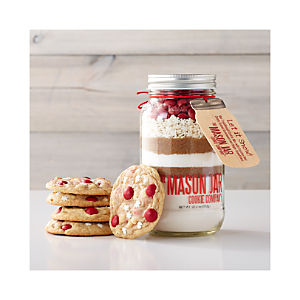 Mason Jar Let It Snow Cookie Mix