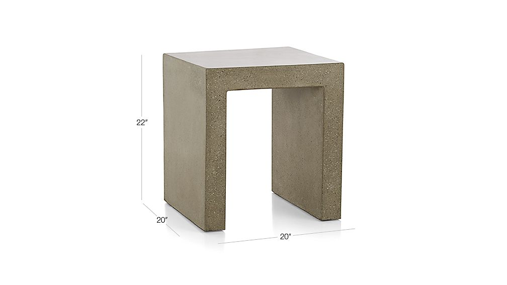 Mason Side Table Dimensions