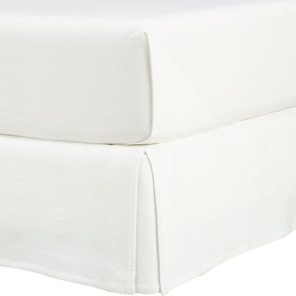 Matelasse California King Bedskirt