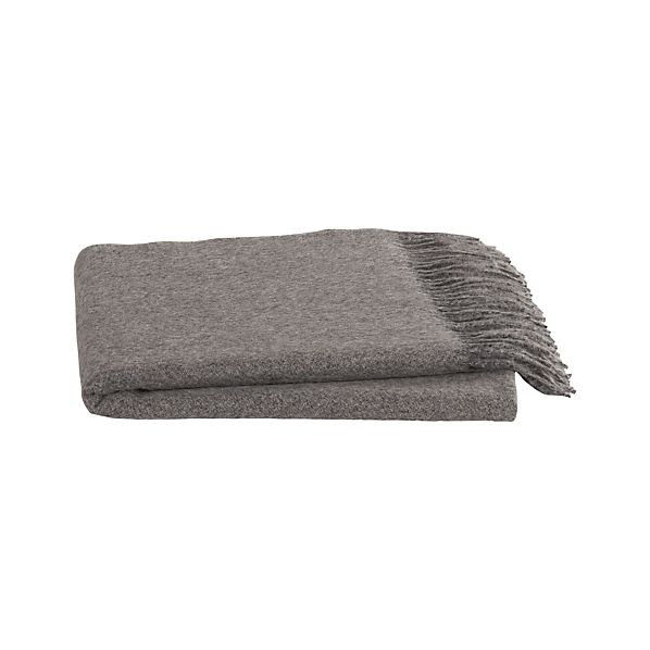 Mateo Mink Alpaca Throw