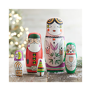 Matryoshka Nesting Dolls Set of Five