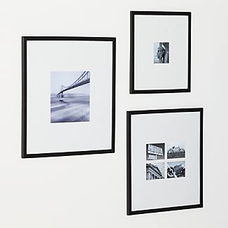 Matte Black Wall Frames