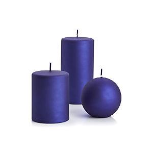 Matte Indigo Candles