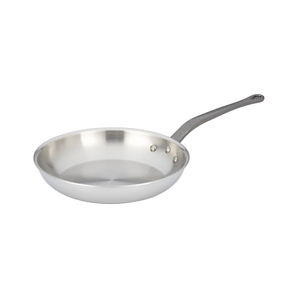 """Mauviel M'cook Stainless-Steel 10.25"""" Fry Pan"""
