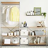 MAX Laundry Chrome Modular Shelving Set