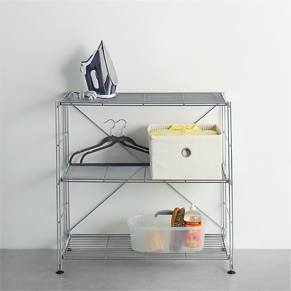 MAX Chrome Three-Shelf Unit