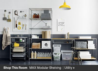 Shop This Room MAX Modular Shelving Utility