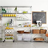 MAX Pantry Chrome Modular Shelving Set