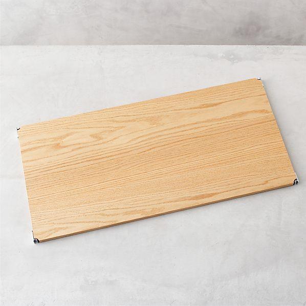 "MAX Wood 32"" Individual Shelf"