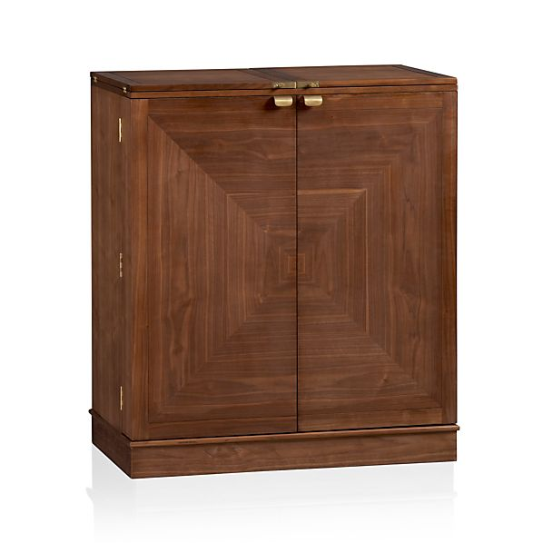 Maxine Bar Cabinet in Bar Cabinets & Bar Carts | Crate and Barrel