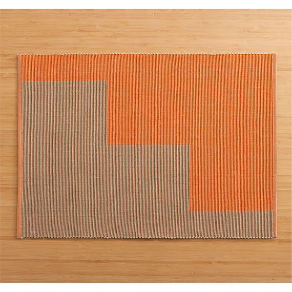 Maya Orange Placemat