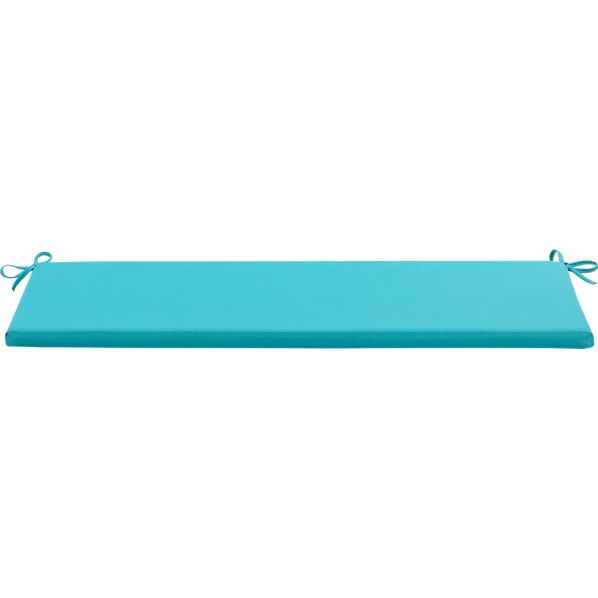 Mendocino Sunbrella® Aqua Bench Cushion