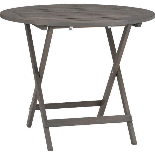 Mendocino Round Folding Dining Table