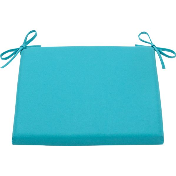 Mendocino Sunbrella® Aqua Side Chair Cushion