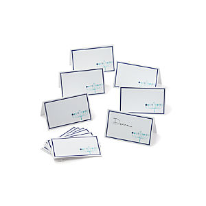 Menorah Place Cards Set of 12