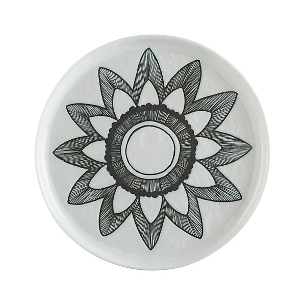 Mercer Bloom Salad Plate