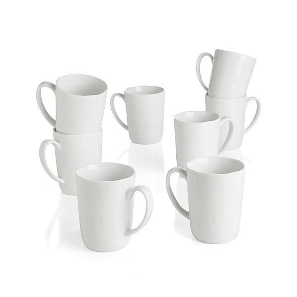 Set of 8 Mercer Mugs