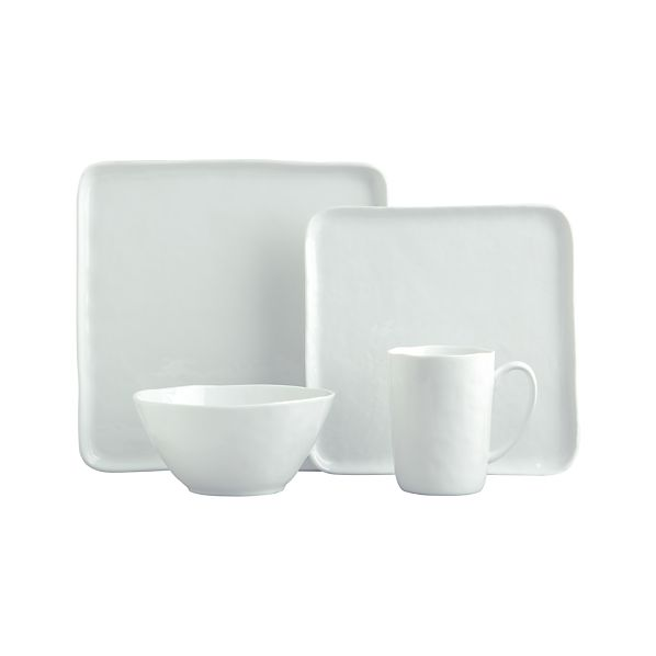 Mercer Dinnerware with Square Plates