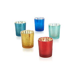 Mercury Tea Light Candle Holders