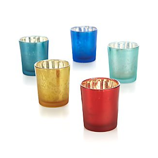 Mercury Tea Light Candle Holders