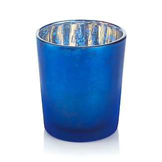 Mercury Blue Tealight Candle Holder