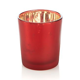 Mercury Red Tealight Candleholder