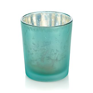 Mercury Turquoise Tealight Candle Holder