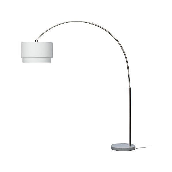 Meryl Floor Lamp in Floor Lamps, Torchieres | Crate and Barrel