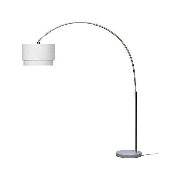 Meryl Floor Lamp in Floor Lamps, Torchieres | Crate and Barrel