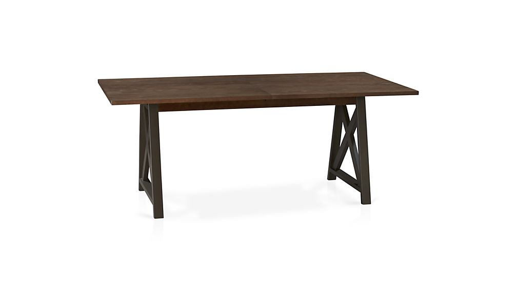 Metra Extension Dining Table in Metra Collection Crate  : metra extension dining table from www.crateandbarrel.com size 1008 x 567 jpeg 15kB