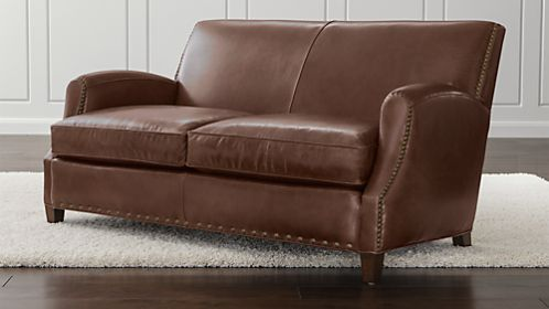 Metropole Leather Loveseat