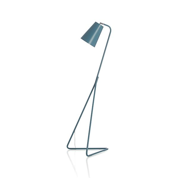 Mick Blue Floor Lamp