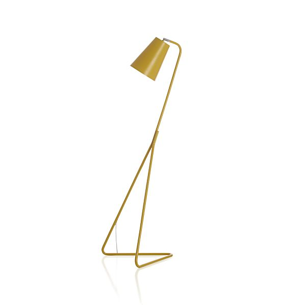 Mick Yellow Floor Lamp