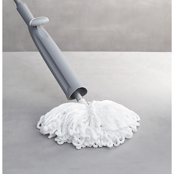 Casabella ® Grey Microfiber Wringer Mop