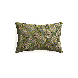 "Midia 20""x13"" Pillow with Down-Alternative Insert"