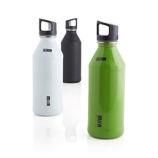 MiiR Classic 600 ml White Water Bottle