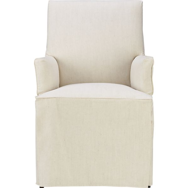Slipcover Only for Miles Arm Chair with Welting